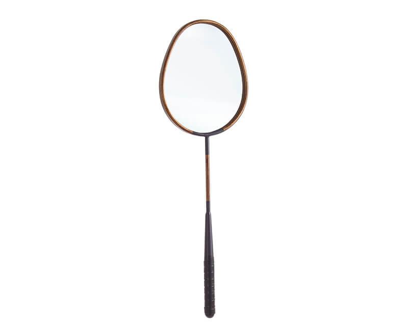 Zrcadlo raqueta 26 x 20 cm