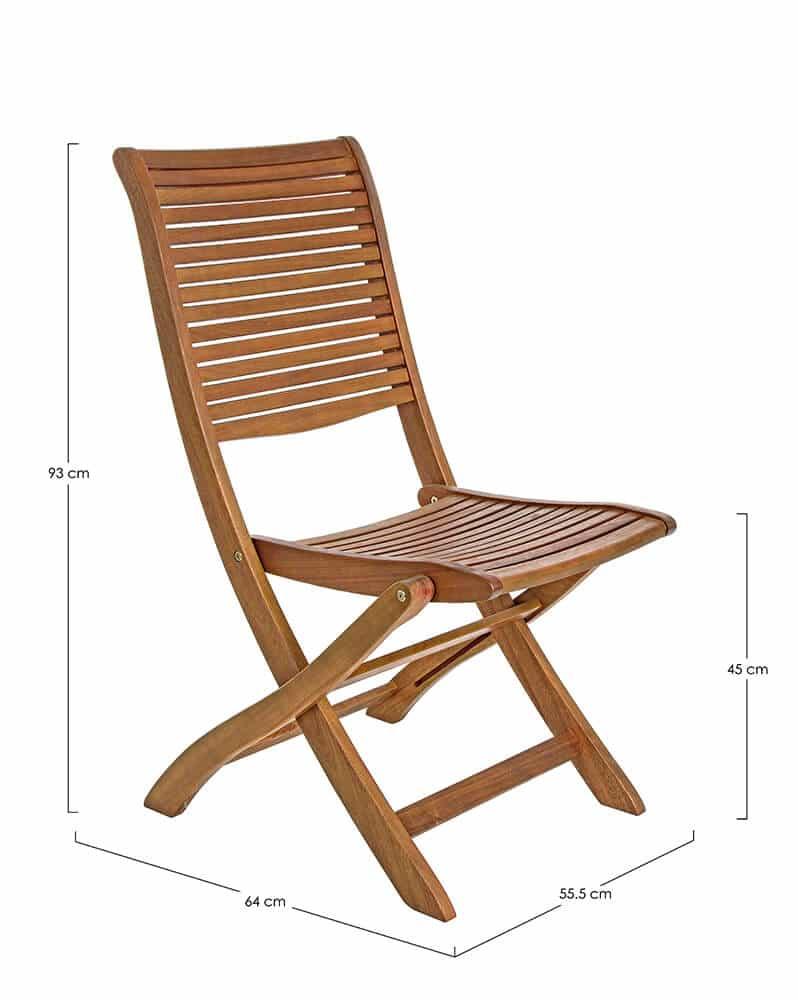 Skládací židle Noemi