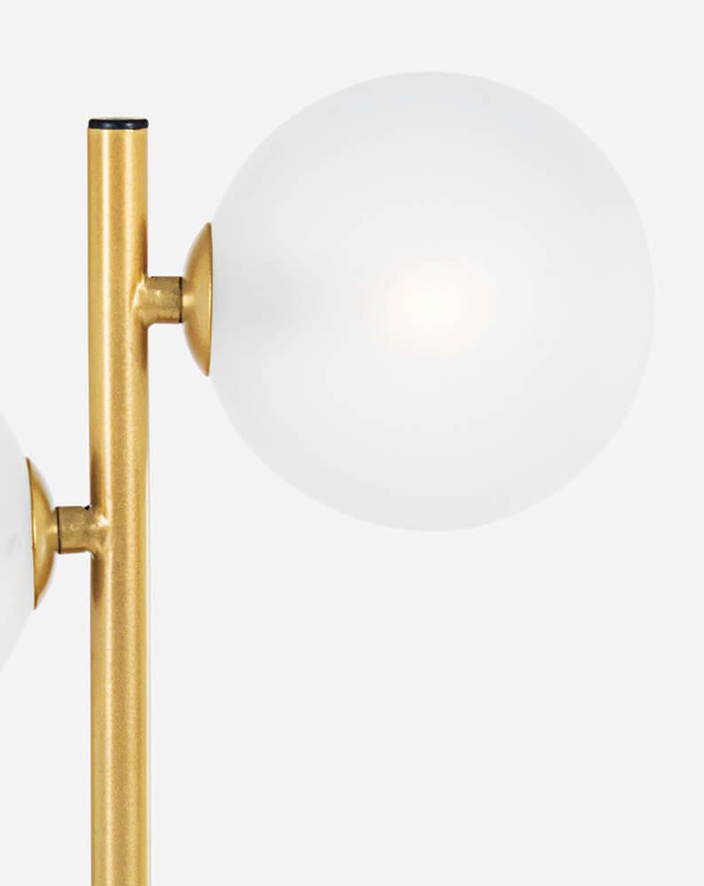 Stolní lampa Balls zlatá
