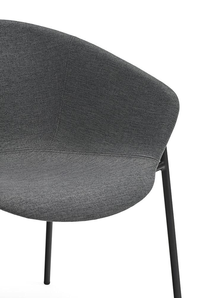 Jídelní židle hug tmavě šedá