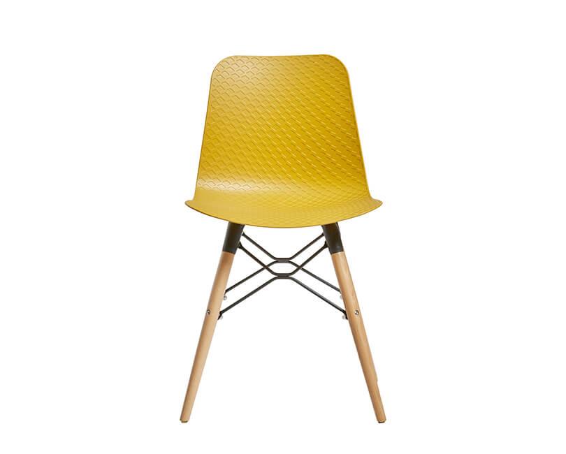 Židle golf horčice