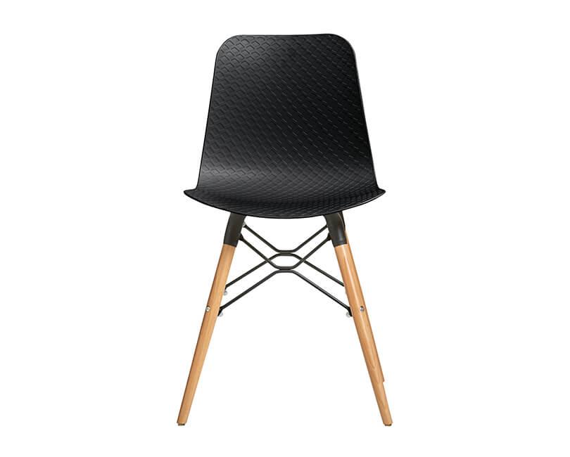 Židle golf černá