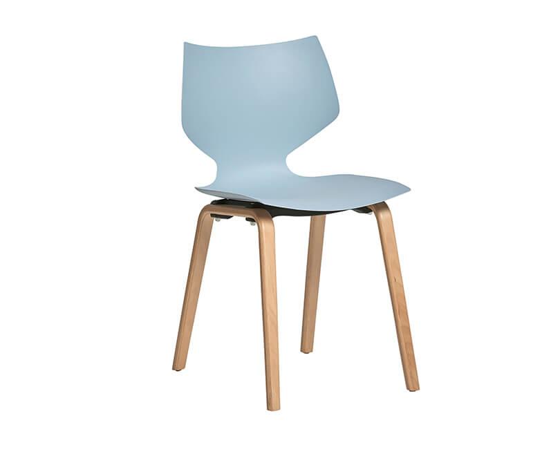 Židle tula modrá