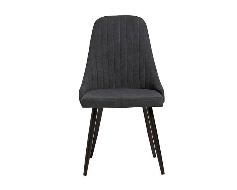 Židle mina tmavě šedá