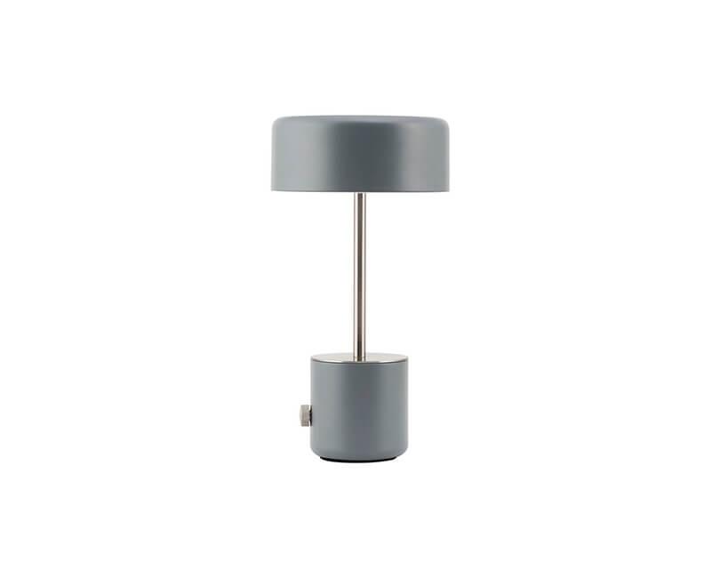 USB STOLNÍ LAMPA BRING ŠEDÁ