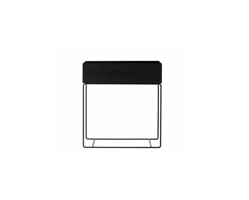 Květináč černý velký