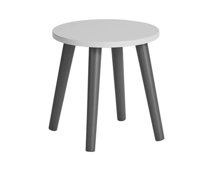 Dětská stolička šedá