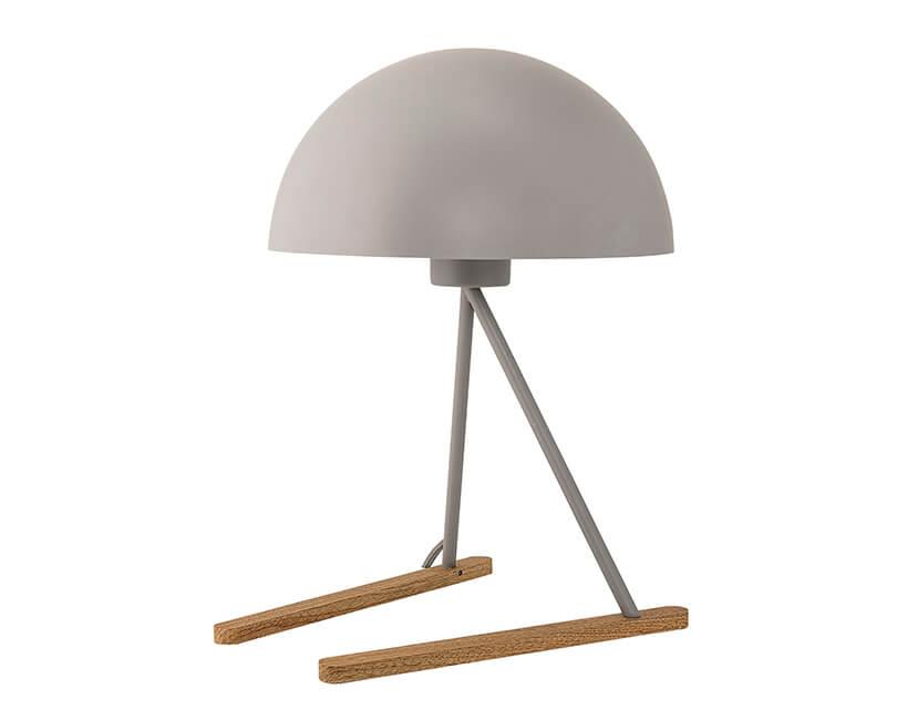 STOLNÍ LAMPA ŠEDÁ