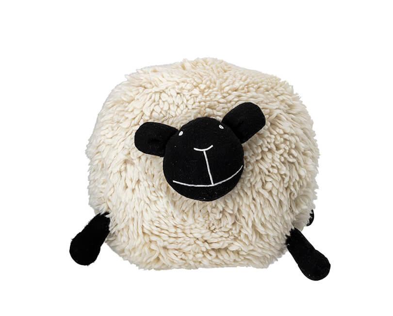 SEDACÍ PUF WOOL SHEEP