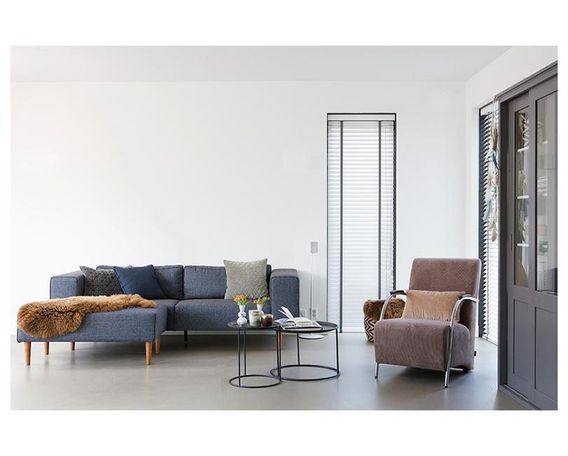 Konferenční stolek ivar se samostatným táckem velký ø 56 x 37.5