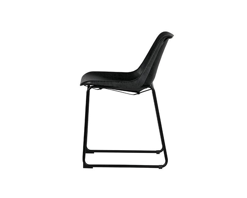 Židle jet 2ks  černá