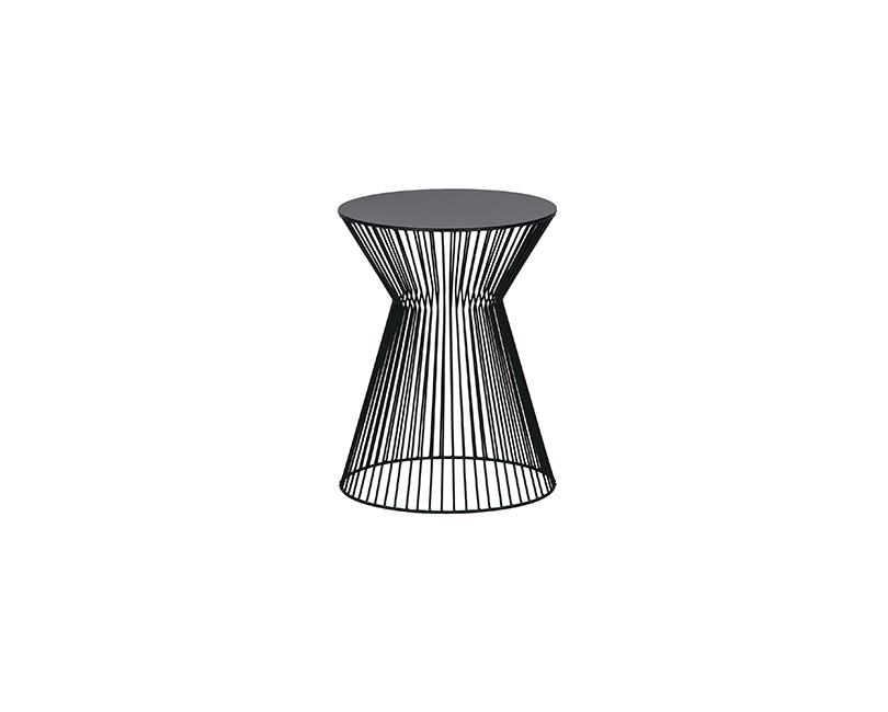 Konferenční stolek suus ø 35 x 46 černý