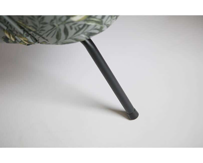Křeslo vogue poppy šedé