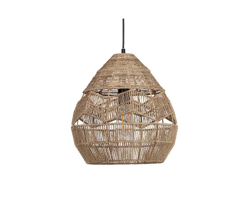 STROPNÍ LAMPA ADELAIDE  Ø 35 CM PŘÍRODNÍ