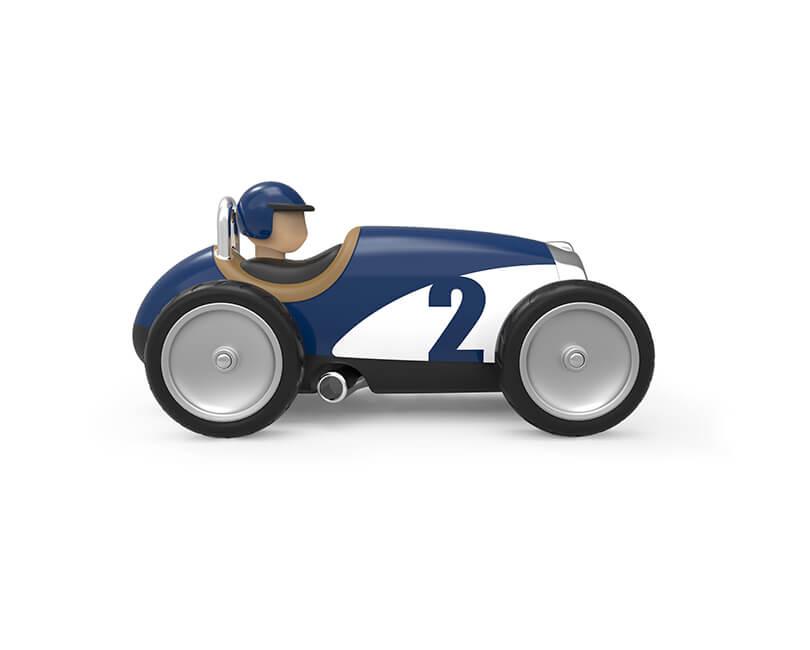 AUTÍČKO RACING CAR MODRÉ