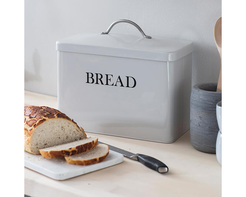 CHLEBNÍK BREAD BIN BÍLÝ