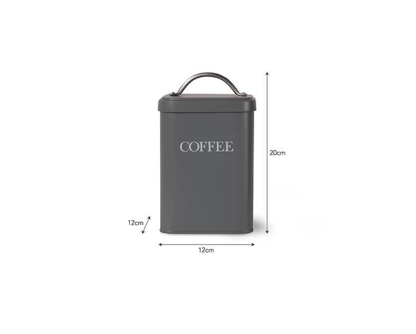 DÓZA COFFEE ŠEDÁ