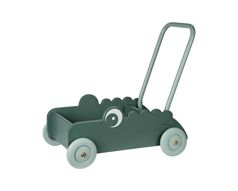 Hračka walker na kolečkách croco - zelená