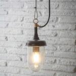 STROPNÍ LAMPA HARBOUR ŠEDÁ