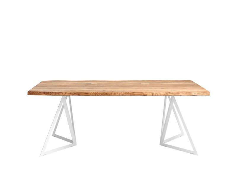 Jídelní stůl sherwood 200 x 100 bílý