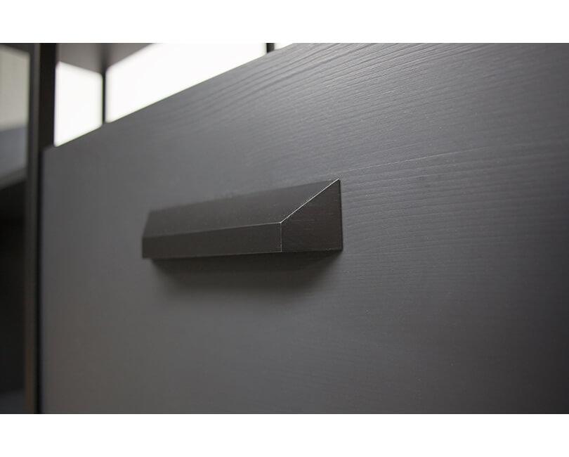 Kabinet legacy 220 x 123 černý