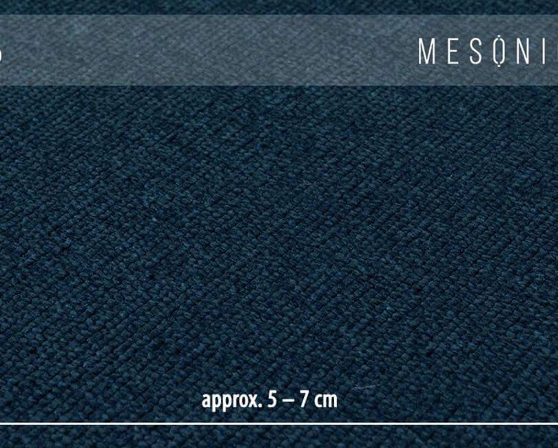 Křeslo musso modré