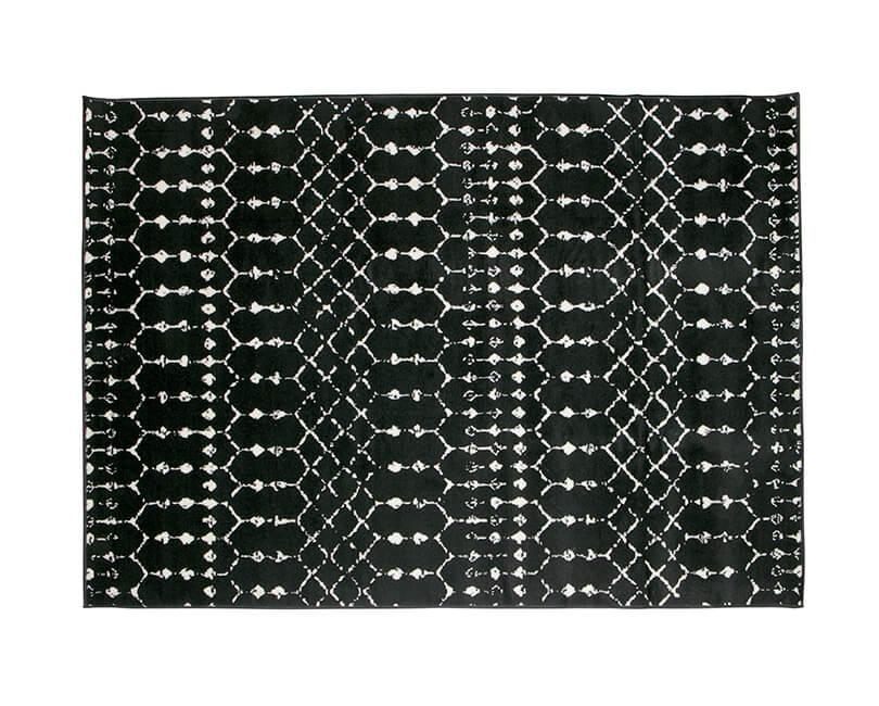 Koberec sansa 170x240 cm černý