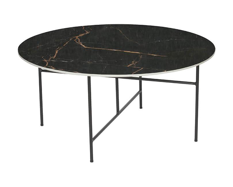Konferenční stolek vida černý 40xø80