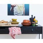 Konzolový stolek silas 140 x 40 černý