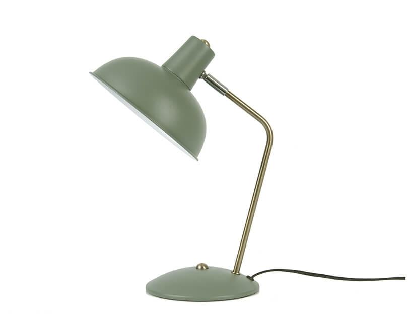 Stolní lampa hood zelená