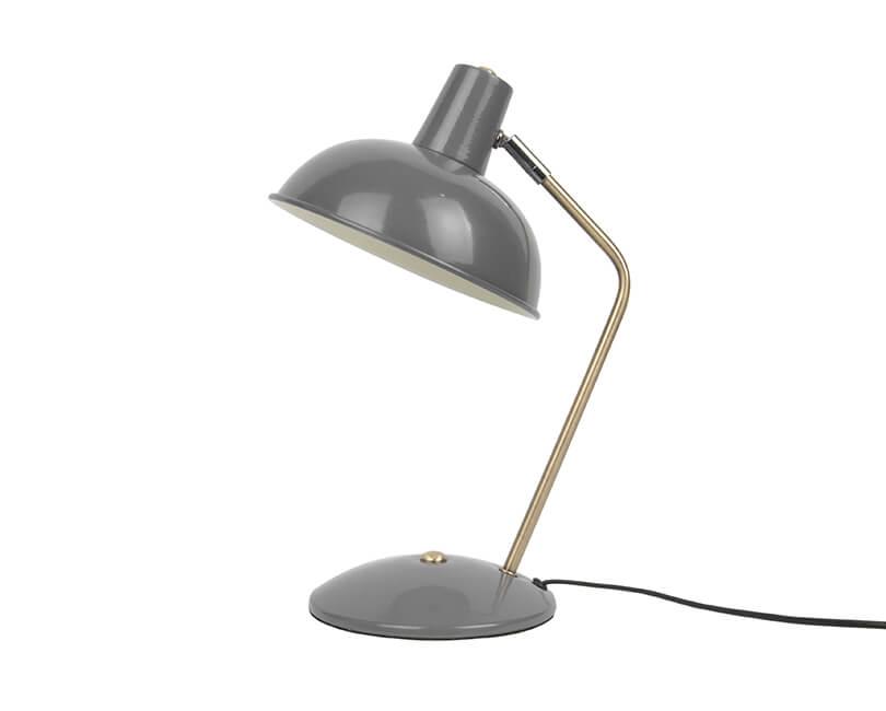 STOLNÍ LAMPA HOOD ŠEDÁ