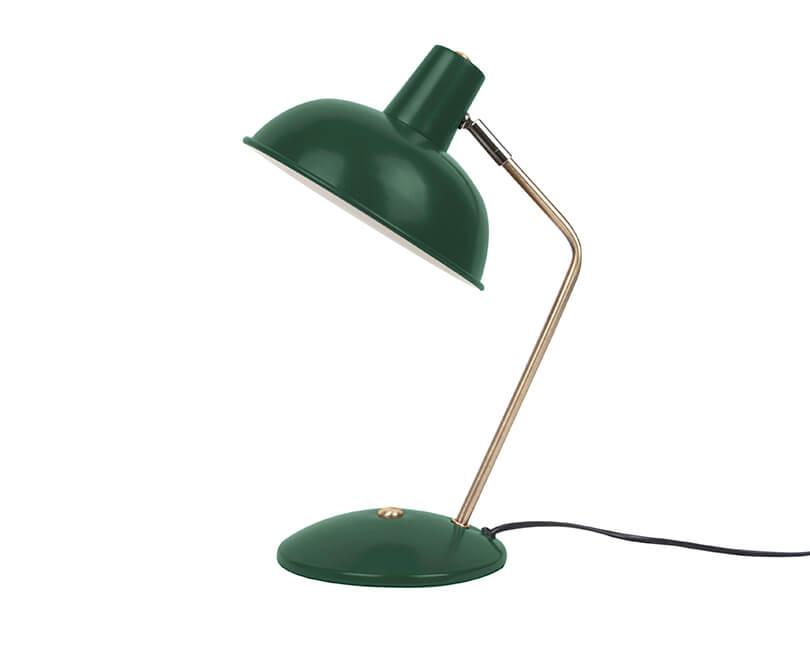 STOLNÍ LAMPA HOOD TMAVĚ ZELENÁ