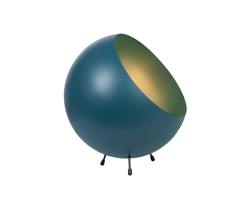 STOLNÍ LAMPA XL BELL MODRÁ