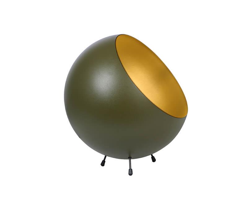STOLNÍ LAMPA XL BELL ZELENÁ