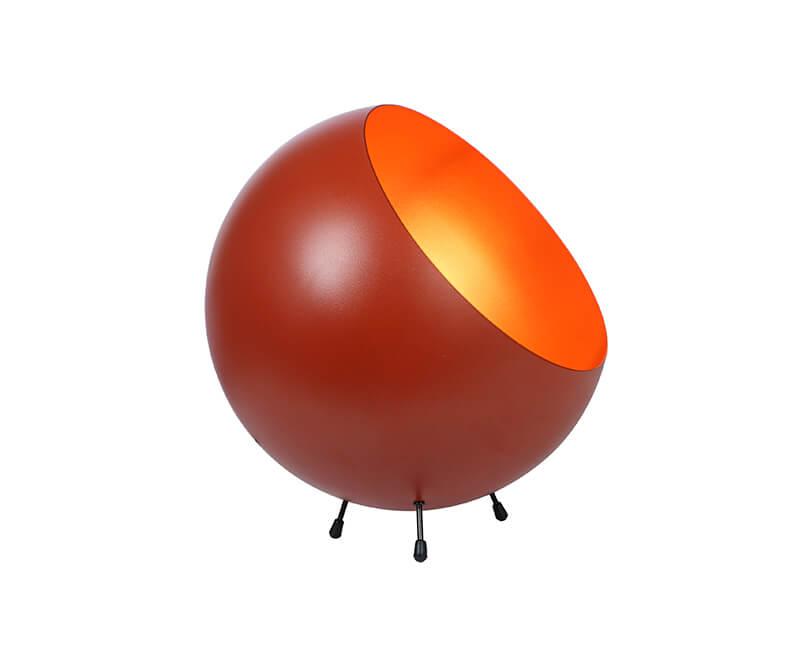 STOLNÍ LAMPA XL BELL ORANŽOVÁ