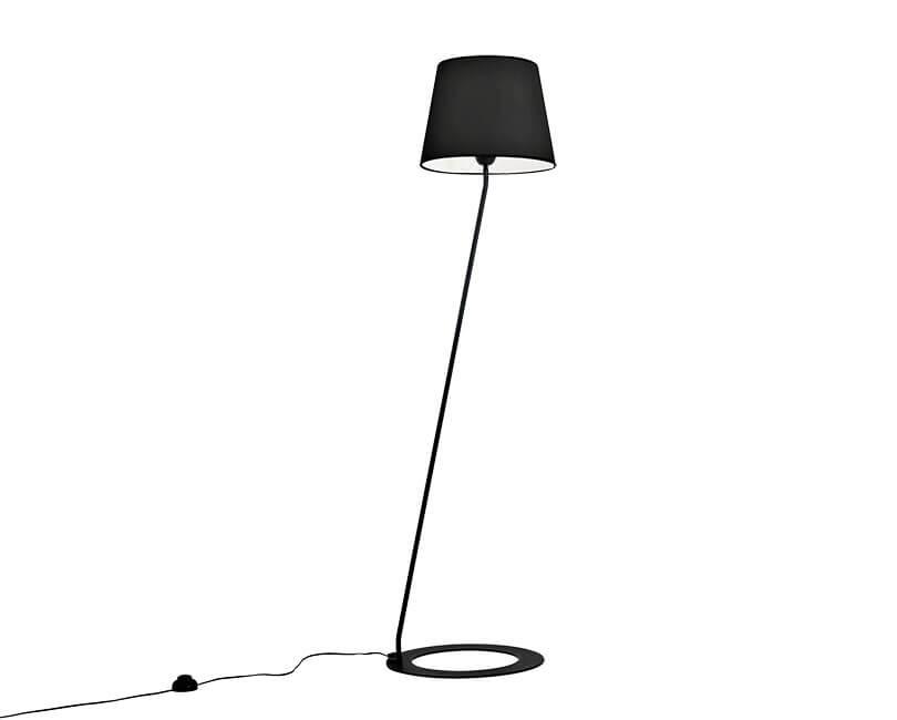 STOJÍCÍ LAMPA SHADE ČERNÁ
