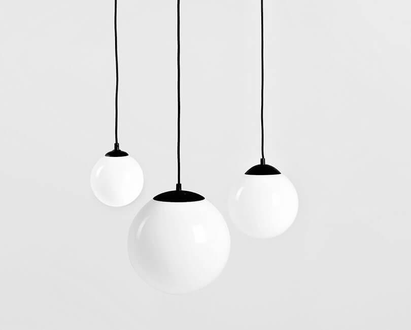STROPNÍ LAMPA MANEN BÍLÁ L