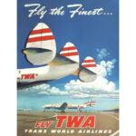 OBRAZ FLY TWA