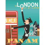 OBRAZ LONDON PAN AM
