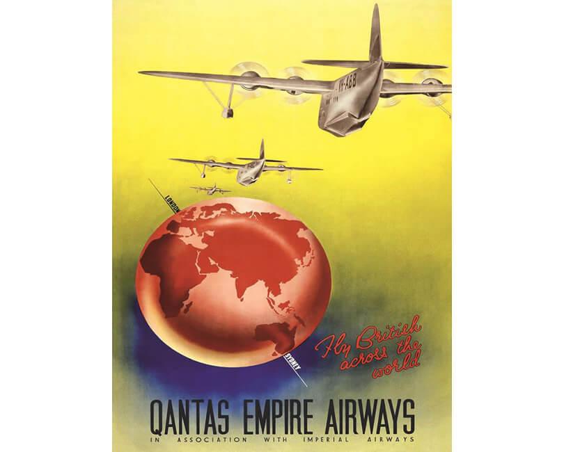 OBRAZ QANTAS EMPIRE AIRWAYS