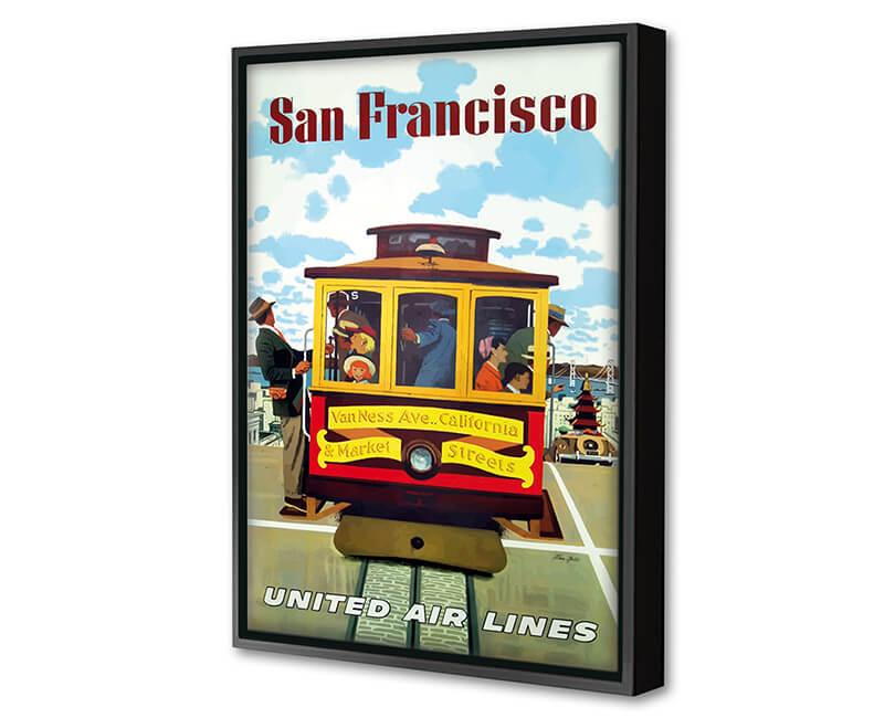 OBRAZ SAN FRANCISCO UNITED AIR LINES 2