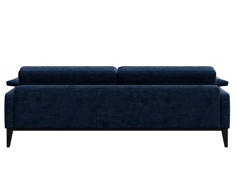 Pohovka třímístná musso modrá