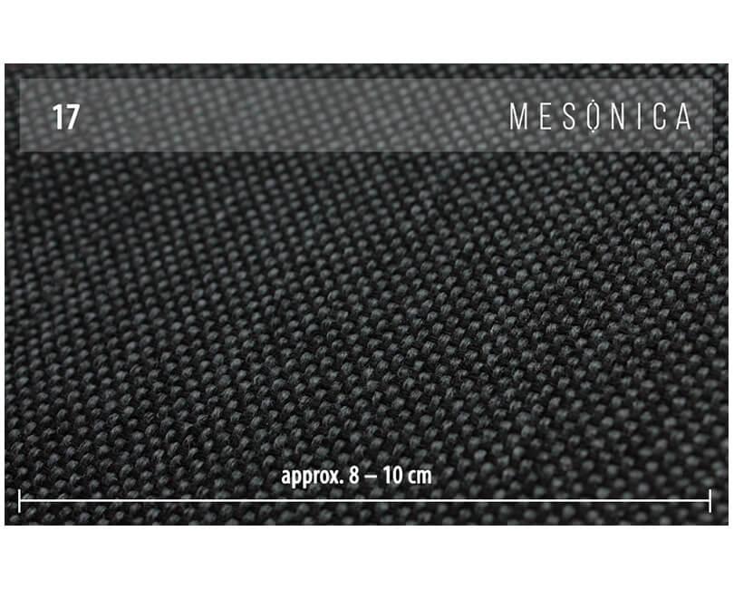 Pohovka třímístná musso tufted tmavě šedá