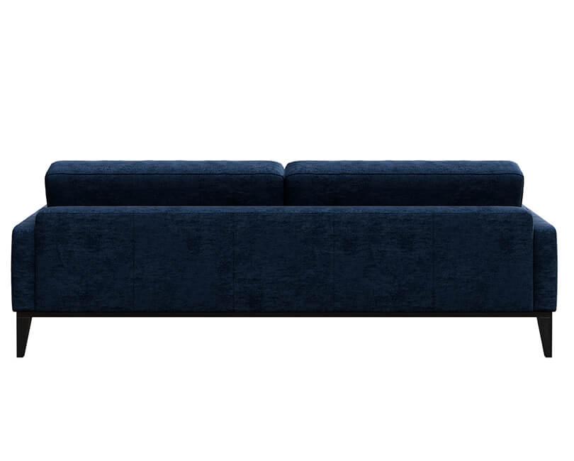 Pohovka třímístná musso tufted modrá