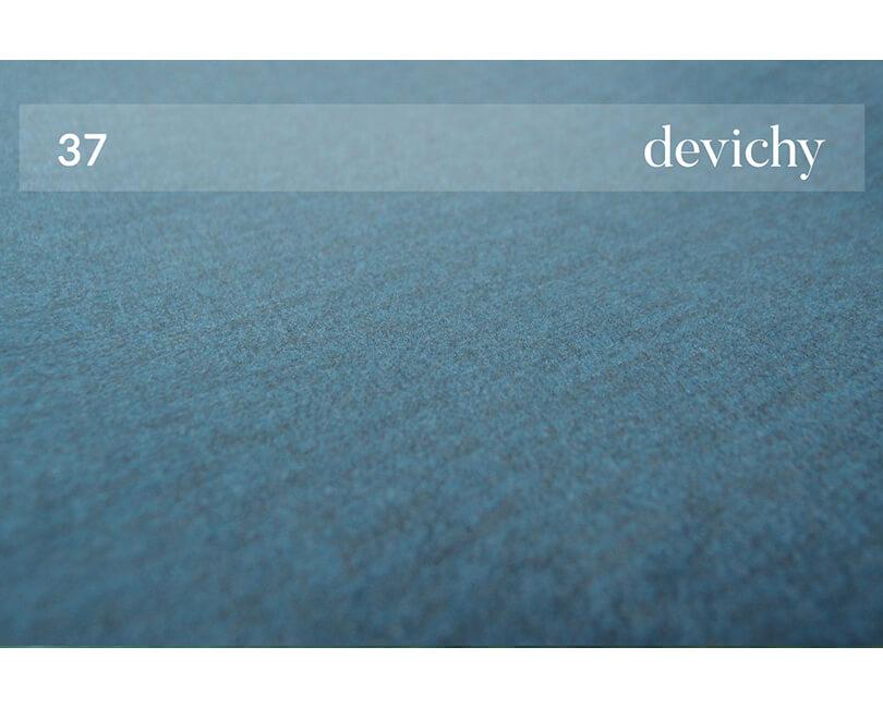 Rohová třímístná pohovka chloe levá modrá