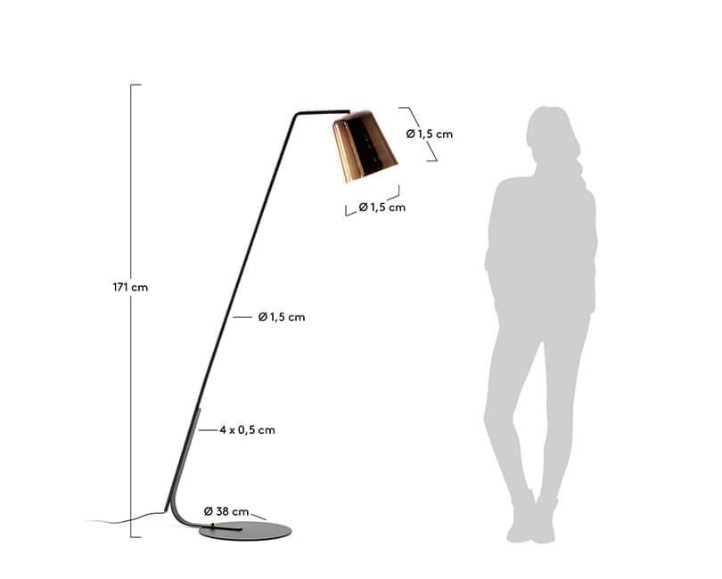 STOJÍCÍ LAMPA ANINA