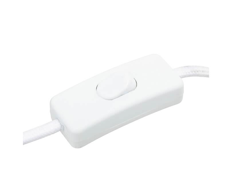 Stolní lampa alex bílá