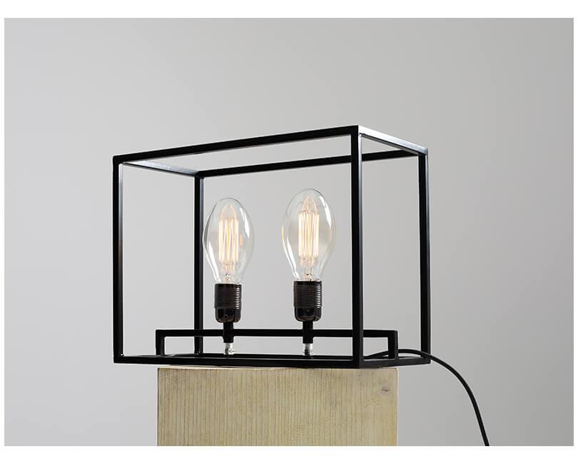 Stolní lampa metric černá