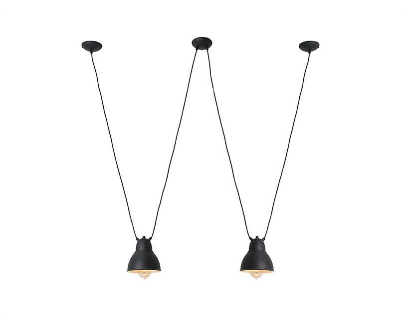Stropní lampa coben hangman 2 černá
