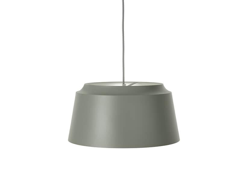 STROPNÍ LAMPA GROOVE 40X40 ZELENÁ
